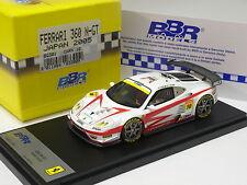 BBR 1:43 FERRARI 360 N-GT JAPAN 2005 LIMITED 100PCS BG301