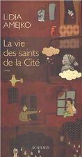 LIDIA AMEJKO LA VIE DES SAINTS DE LA CITE + PARIS POSTER GUIDE