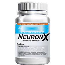 NeuronX, 1 Month, 60 Capsule, Limitless Pill, Stronger Than Addium & Neuroflexyn