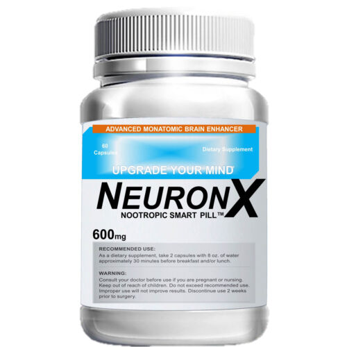 NeuronX-1-Month-60-Capsule-Limitless-Pill-Stronger-Than-Addium-amp-Neuroflexyn