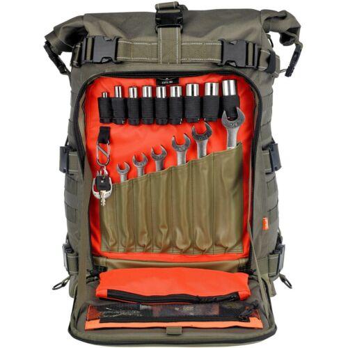 Biltwell EXFIL-80 Sissy Bar Bag OD GREEN 3003-02