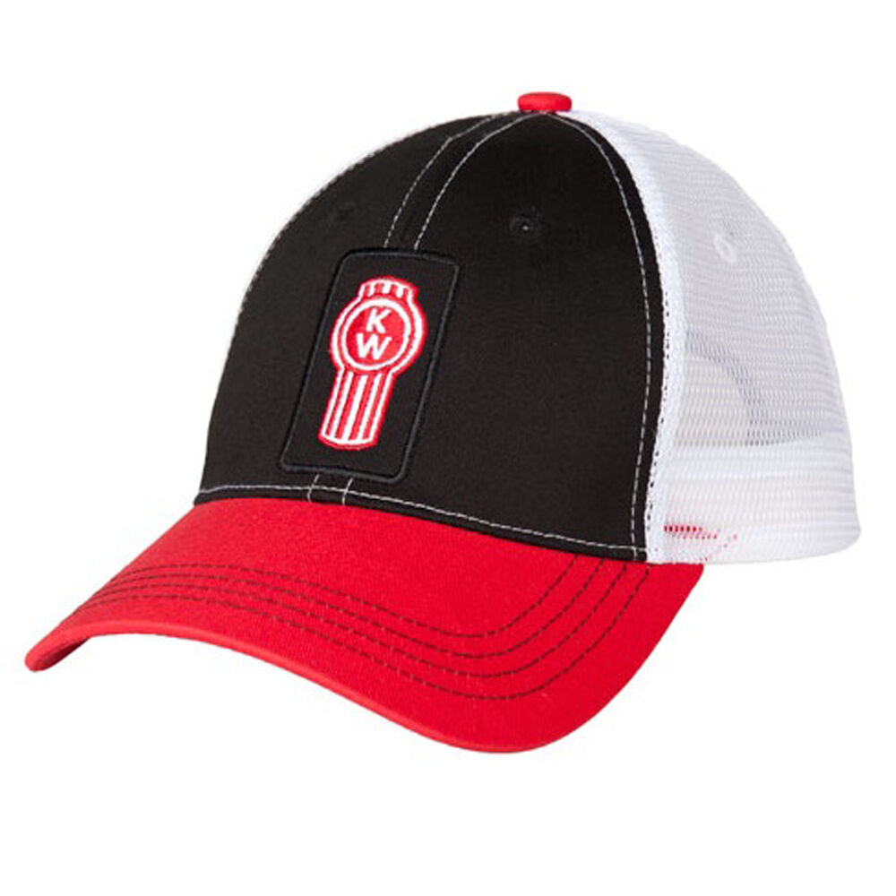 Kenworth Trucker Motors Trucks Tri-Color Patch Trucker Kenworth Snapback Mesh Cap/Hat 094793
