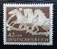 Deutsches Reich 815 , Das Braune Band: München-Riem , Gestempelt