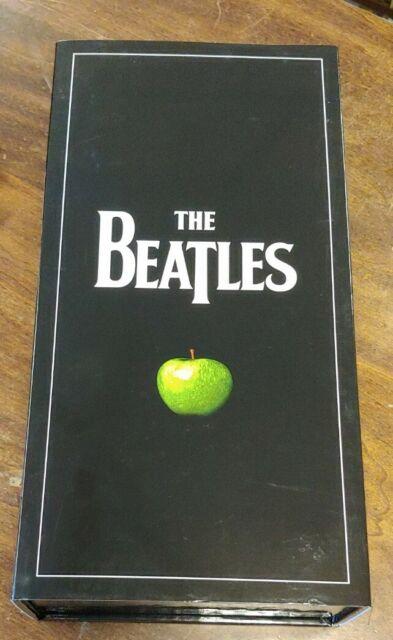 THE BEATLES THE ORIGINAL STUDIO RECORDINGS BOXSET LIKE NEW W/ SLIPCOVER BEAUTIFU