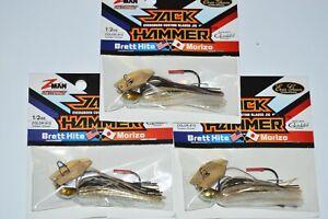 """Z-Man//Evergreen ChatterBait Jack Hammer 1//2 oz /""""Golden Shiner/"""""""