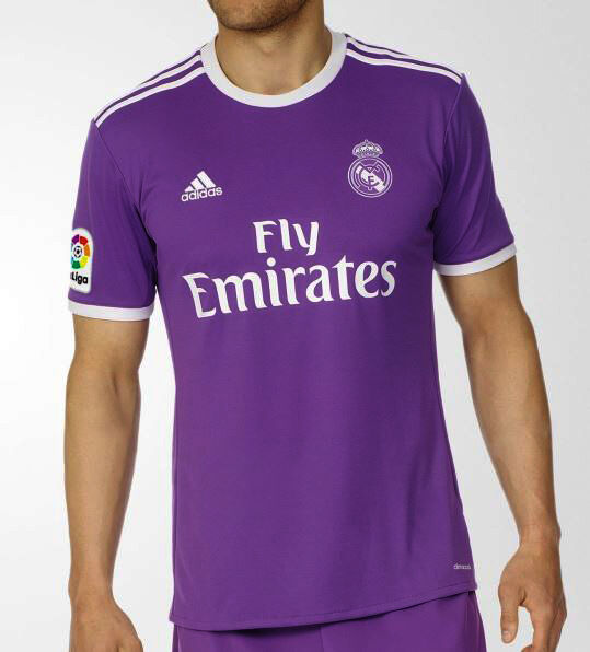 newest 256b4 ef515 Adidas Men's SOCCER REAL MADRID AWAY REPLICA JERSEY Shirt Purple AI5158 b
