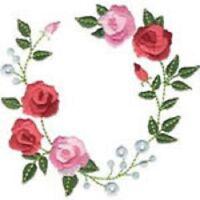 OESD Embroidery Machine Designs CD DAINTY ROSE GARDEN