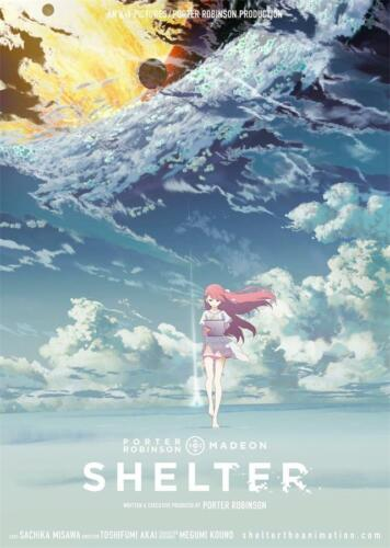 Movie Art Poster Shelter Porter Robinson Short Anime Cartoon 18x12-40x27/""
