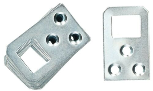 Schrankaufhänger 40 x 25 x 1,2 mm Schrankaufhängung Möbelaufhänger Bettbeschlag