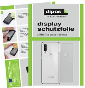 5x-Schutzfolie-fuer-Motorola-One-Action-Rueckseite-Display-Folie-matt