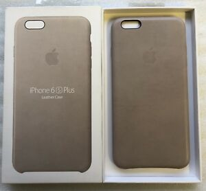 size 40 1f3e3 753ce Details about NEW Genuine Apple iPhone 6 / 6S Plus Leather Case - Rose Grey