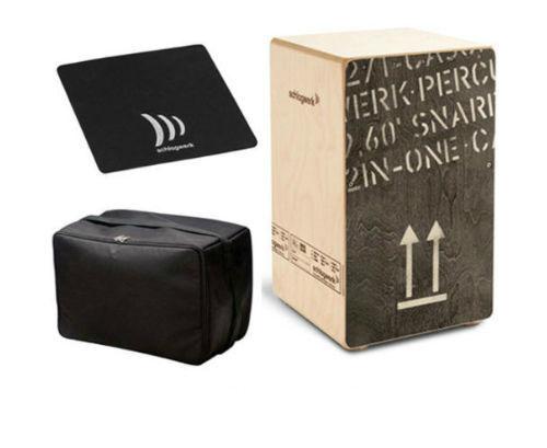 Schlagwerk Cajon 2inOne CP-404 Black large inkl Tasche /& Sitzpad