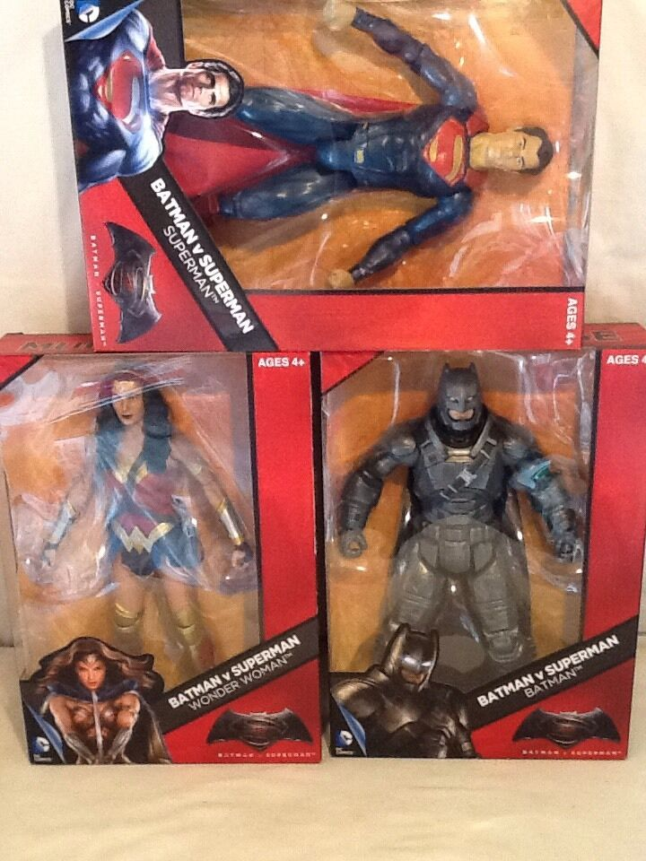 Dc comics puppe viel 3-figures 12 - action - figur