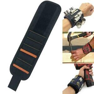 1-stueck-Durable-Magnetic-Wristband-Grade-Magnets-Werkzeug-Halteschrauben-Gi-H1D3