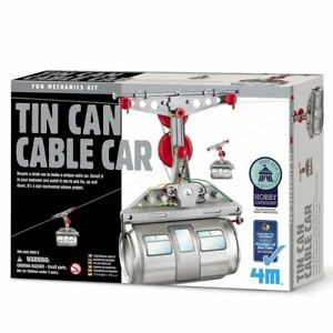 4M-Tin-Can-Cable-Car-Fun-Mechanics-Kit-Educational-Experiment-Science-Building-T