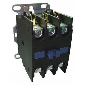 DAYTON-6GNX3-208-240VAC-Non-Reversing-Definite-Purpose-Contactor-3P-40A