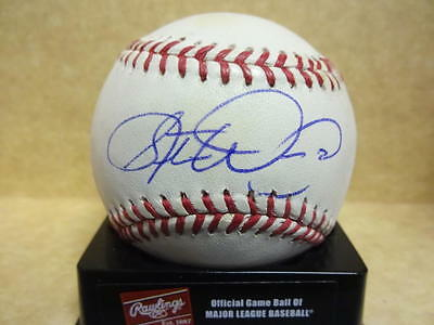 Baseball W/coa Without Return Steve Woodard Red Sox/indians/brewers Signed M.l Autographs-original Balls