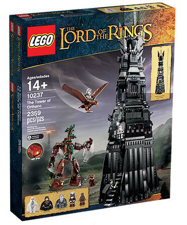 LEGO The Lord of the Rings Tower of Orthanc (10237) MSIB