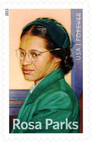 2013 46c Rosa Louise McCauley Parks, Civil Rights Scott