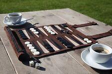 Sondergut Roll-up Suede Backgammon Game Family Fun Travel Easy Storage