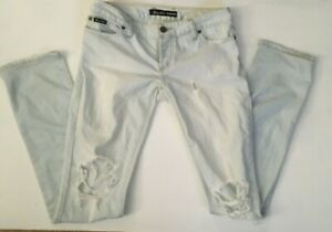Bardot-ripped-distressed-skinny-jeans-size-9