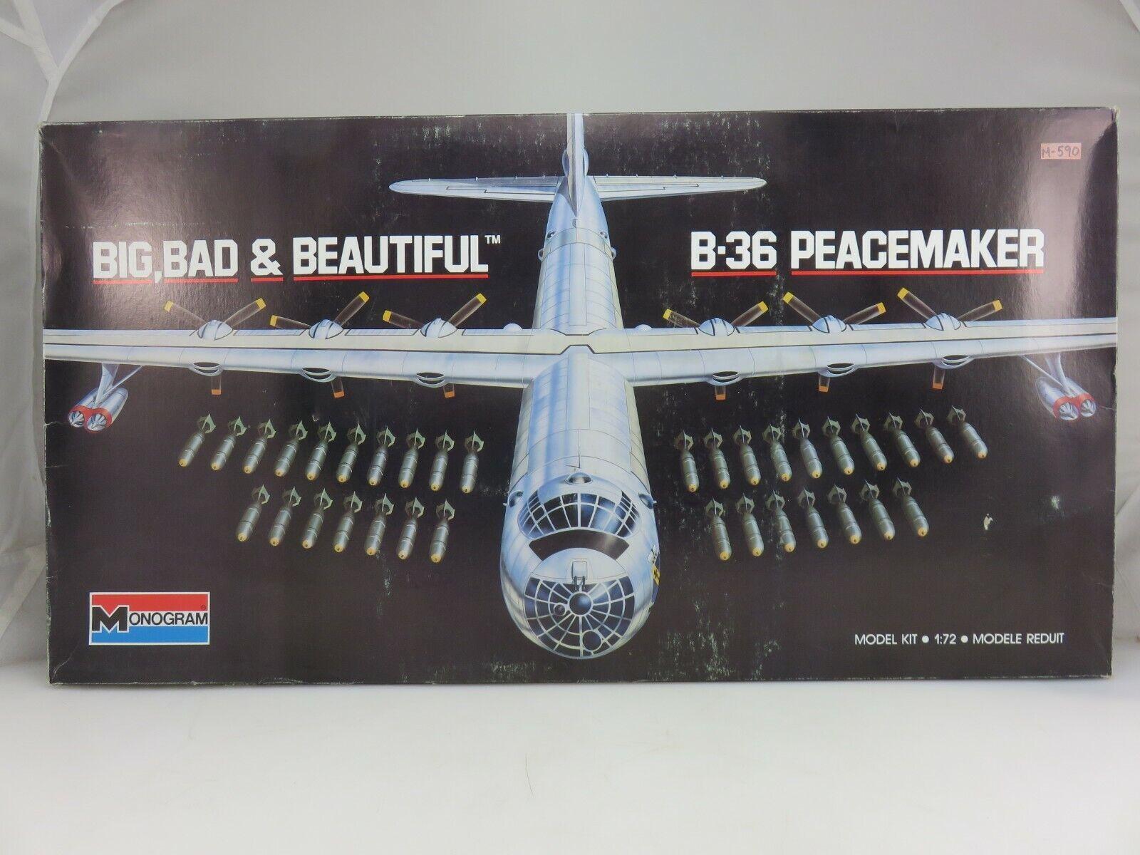 Símbolo B - 36 Peacekeeper 1   72 plástico a escala 5707 sin montar