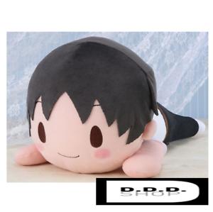 SEGA-Evangelion-series-MJ-Nesoberi-stuffed-toy-Soft-plush-Shinji-feat-sanpati