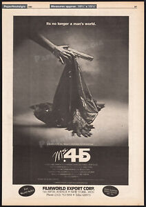 Ms. 45__Original 1980 Trade AD promo / poster__Zoë / ZOE LUND__Abel Ferrara_1981