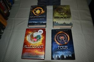 Divergent-Series-Set-Veronica-Roth-ALL-1st-Edition-First-Printings-Insurgent