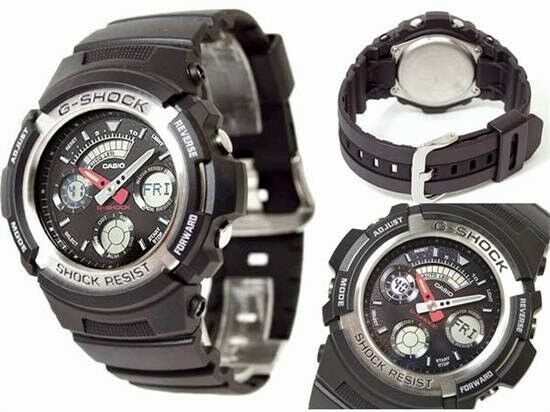 db4798dfc78b Casio G-Shock AW-590-1A Wristwatch for sale online