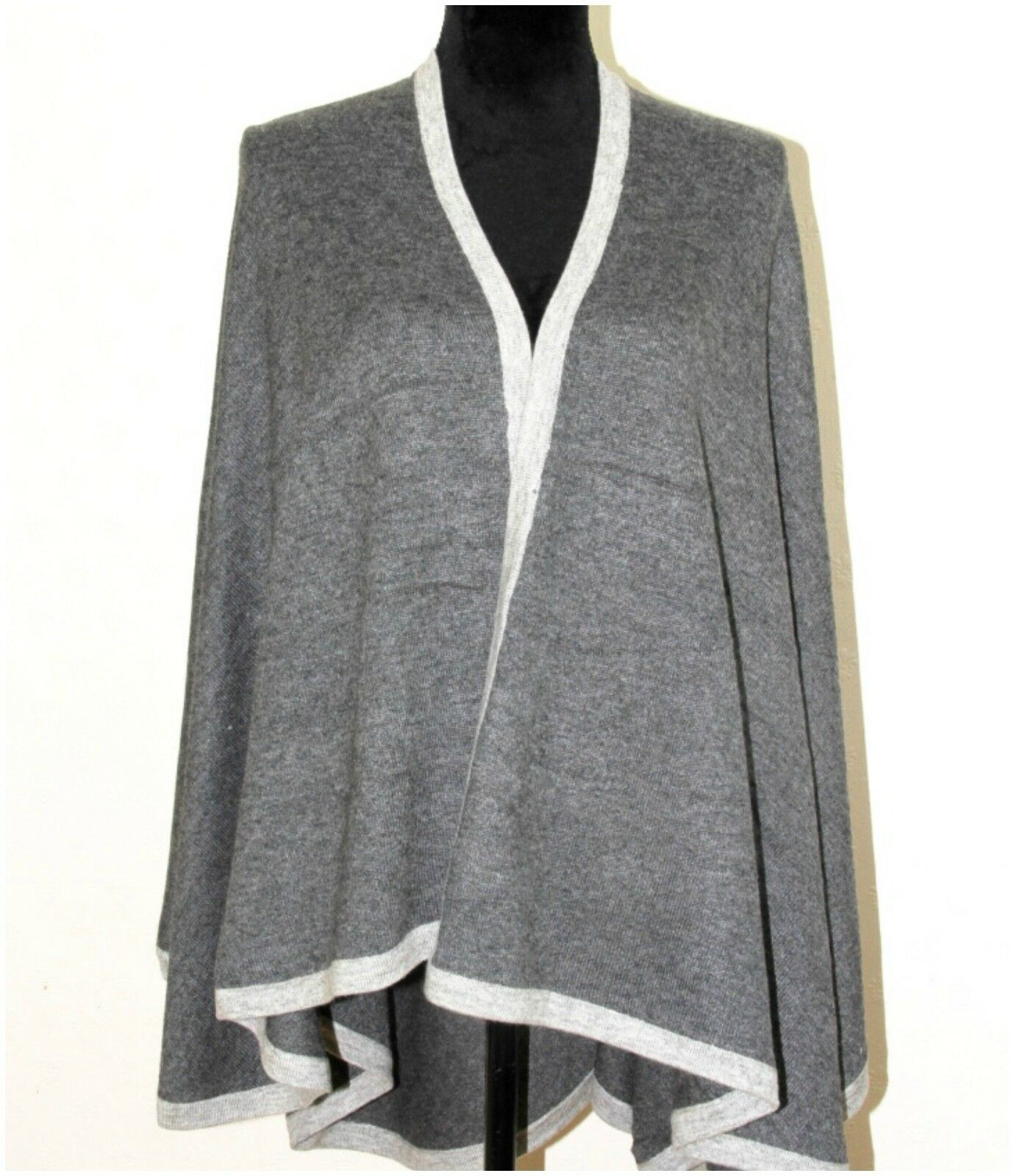 Cashmere Poncho Cape Wrap Pashmina Wool Shawl Jumper Coat Serape Serape Serape Blanket Warm a40aea