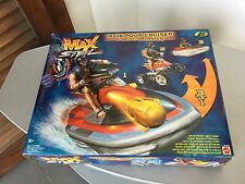 1999# MATTEL VINTAGE MAX STEEL MX16 HYDRO JET & BEACH BLASTER VEHICLE#NIB