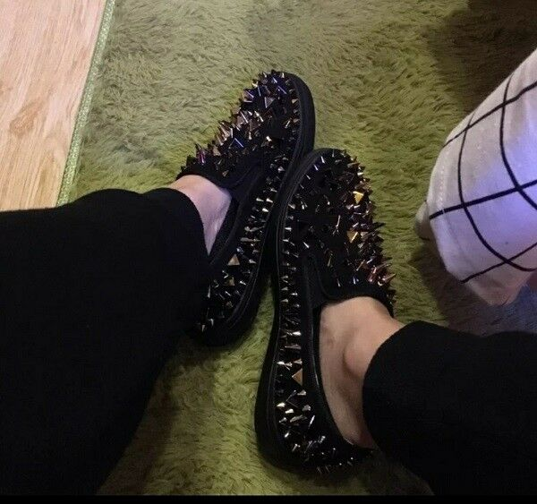 MW009756 - FASHION (SIZE STUDDED SLIP ON LOAFERS (SIZE FASHION 34 - 41) a86c8b