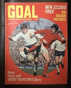 Goal Magazine Number 1 1968 Fantastic