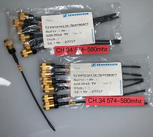 Audio For Video 580 Mhz Ch.34 For Sennheiser Ek 2012 Tv Antenne Gza Sk Original Antenna 574