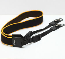 Vintage Bower Neck Strap For 35mm Film Rangefinder Folding DSLR M4/3 Camera