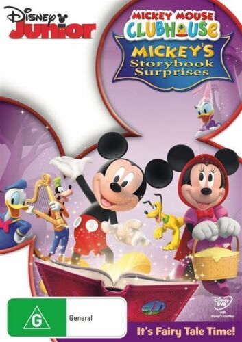 1 of 1 - Mickey Mouse Clubhouse - Mickey's Storybook Surprises (DVD, 2012)