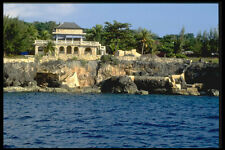 328046 Cliffside Villa Negril A4 Photo Print