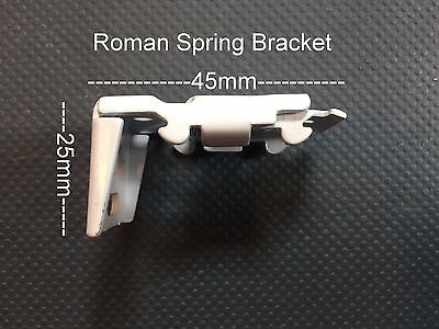 Professional Roman Blind Spring Fitting Brackets Spares