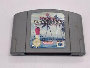 Vintage Waialae Country Club golf verdadero oro Classics-N64 Nintendo 64-PAL