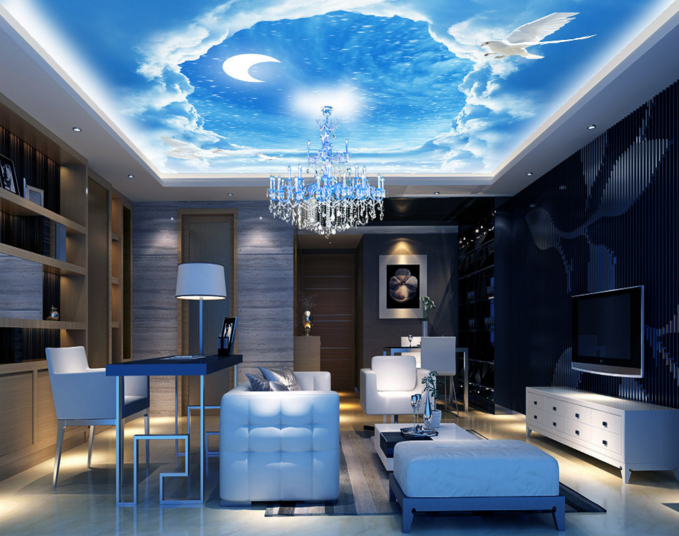 3D Cloud Scenery 78 Ceiling Wall Paper Print Wall Indoor Wall Murals CA Carly