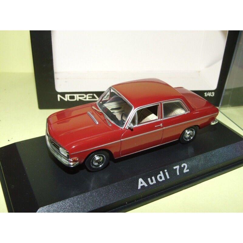 AUDI 72 Bordeaux NOREV 1 43
