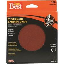 Ali Ind 380415 5 Do It Best Stick-On Sanding Disc 100G