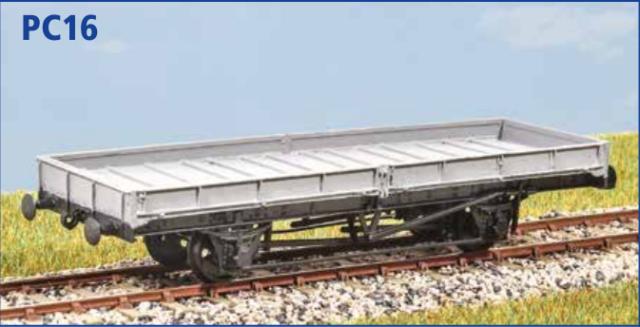 LNER 21t Trestle Wagon Parkside PC17 OO gauge