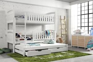 Etagenbett Drei : Etagenbett hochbett blanka für personen inkl matratzen
