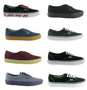 VANS-Authentic-Lite-Scarab-Schwarz-Schuhe-classic-skater-Freizeit-sneakers