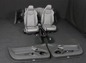 ORIG-Audi-TT-8S-S-LINE-Sport-Leder-Sitze-Lederausstattung-leather-seats-interior