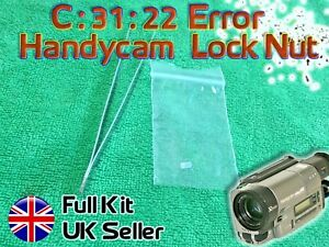 Sony Handycam Camcorder C 31 22 C 31 23 Repair Kit Pinch Roller Locking Nut Ebay