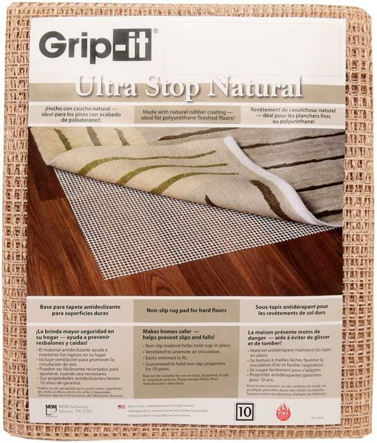 Area Rug Gripper Pad for Hard Floors Goasis Lawn Non-Slip Area Rug Pad 2x8 Pads Available in Many Sizes Provides Protection and Cushion for Area Rugs and Floors