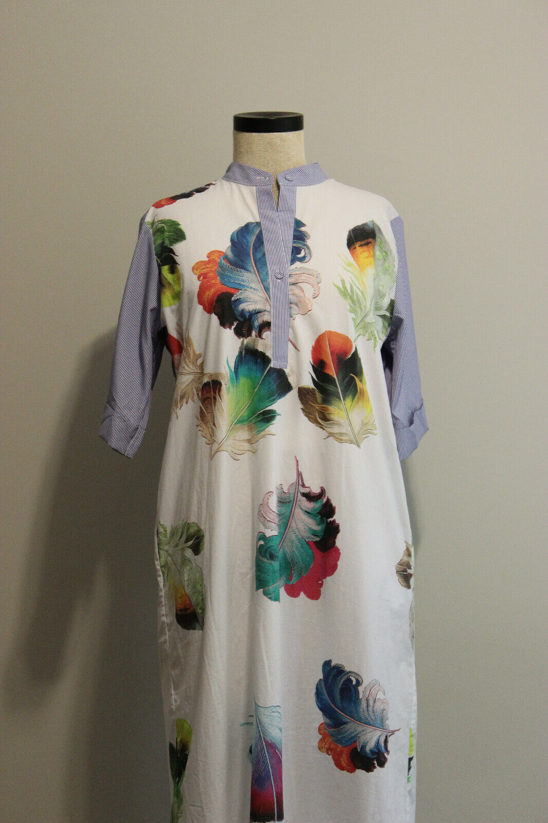 Romance Was Born 100% Cotton Feather Print Wide S… - image 5